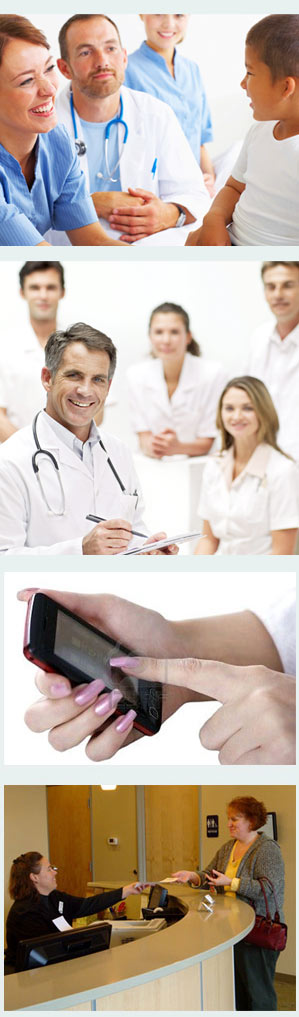 Medical  software - SMS patient appointment reminder system.